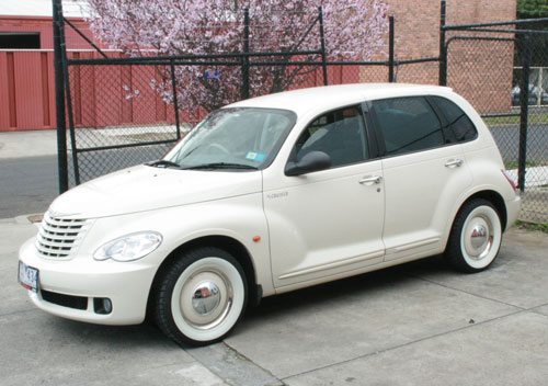 Pt Cruiser On American Classic S Antique Tyres